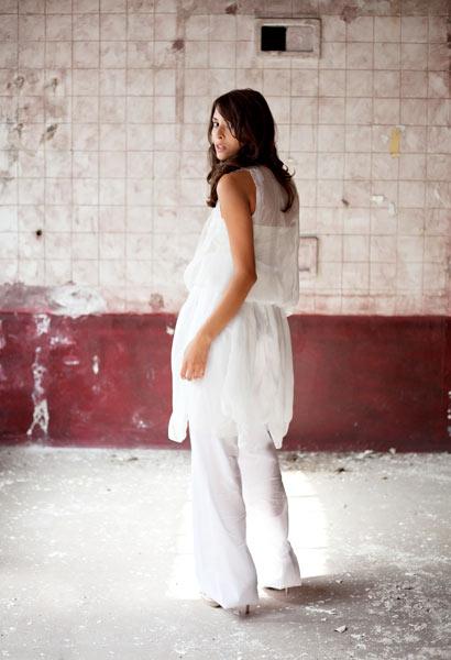 Modefotografie Industrieanlage